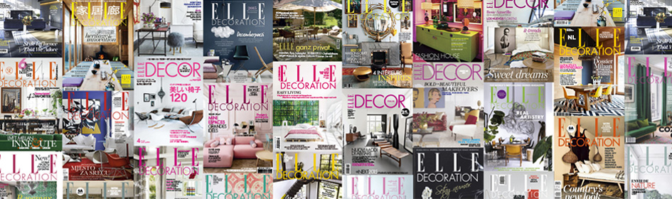 EDIDA, the ELLE DECO INTERNATIONAL DESIGN AWARDS, is a unique international event launched in 2002. It is where the 25 editors-in-chief of the ELLE DECORATION international network gather to award global excellence in design in 13 categories, listed below.