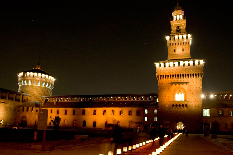 Castello Sforzesco © Claudio Tajoli – Nally Bellati