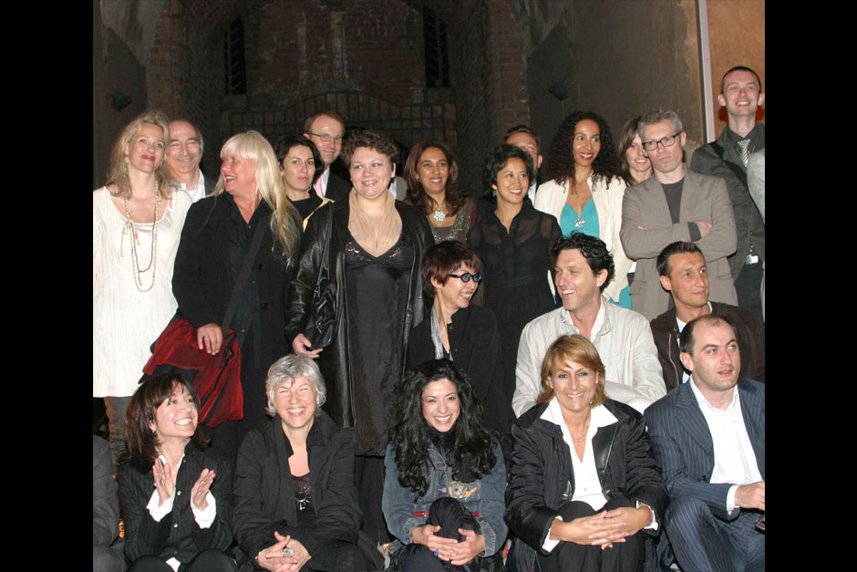 Editors in chief of ELLE decoration network and winners © Claudio Tajoli – Nally Bellati
