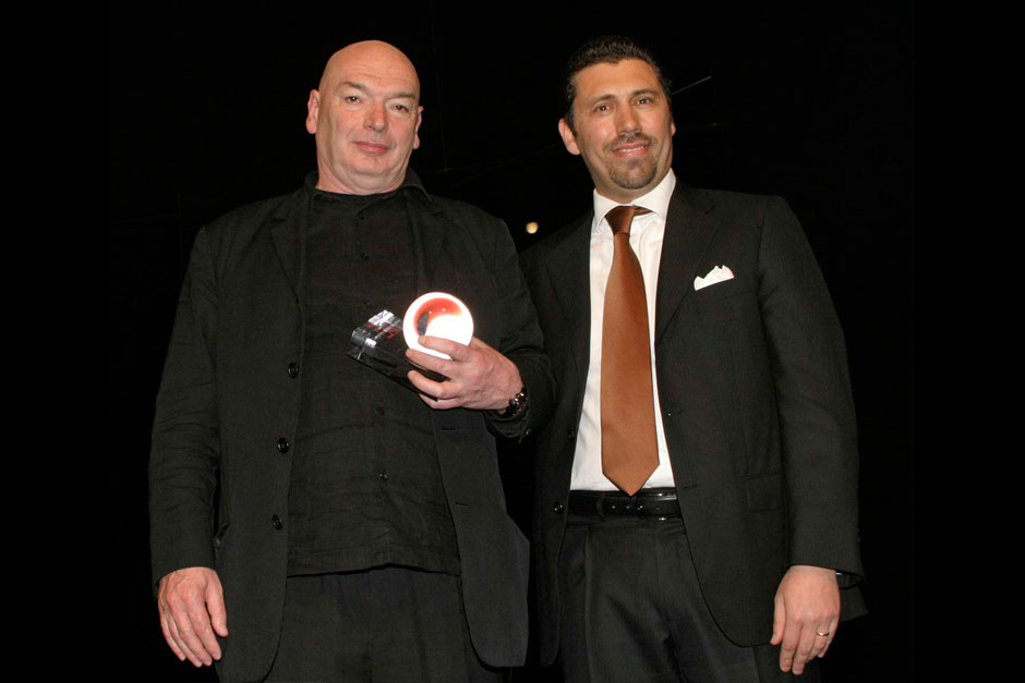 Jean Nouvel - Designer and Alberto Scavolini for Ernestomeda © Nally Bellati - Stefano Contrasto