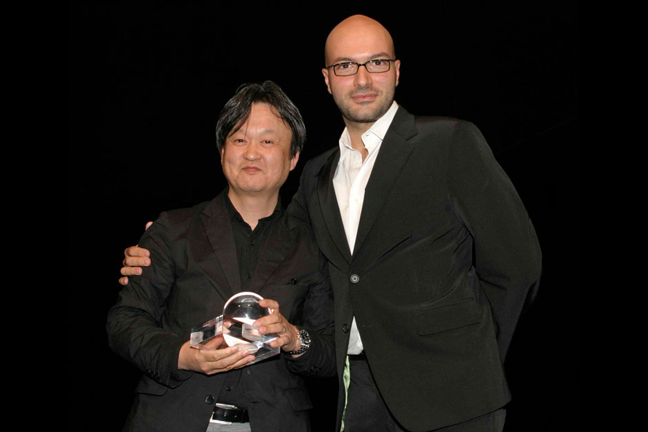 Naoto Fukasawa - Designer and Massimiliano Busnelli for B&B Italia © Nally Bellati - Stefano Contrasto