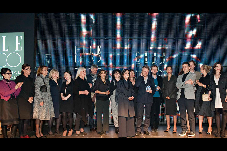 Editors in chief of ELLE decoration network and the winners © Alessandro Volta - Alessandro Lucioni Imaxtree - Stefano Pavesi Contrasto