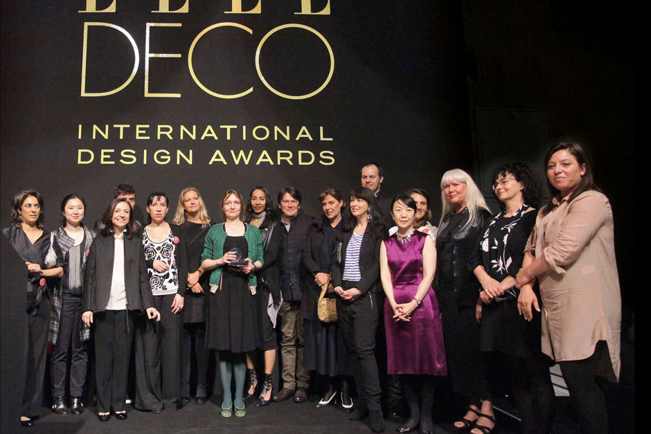 Editors in chief of ELLE decoration network and the winners © Canio Romaniello Olycom - Stefano Pavesi Contrasto