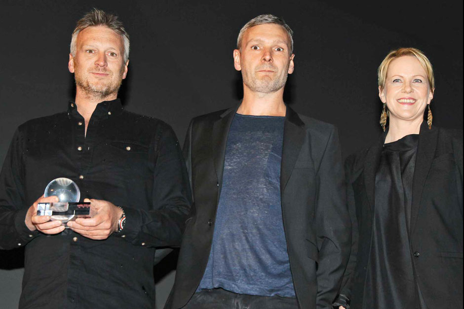 Martin and Flemming Lindholdt designers and Helle Tjaberg editor-in-chief at ELLE decoration Norway © Canio Romaniello Olycom - Mattia Tarelli - Ventudin