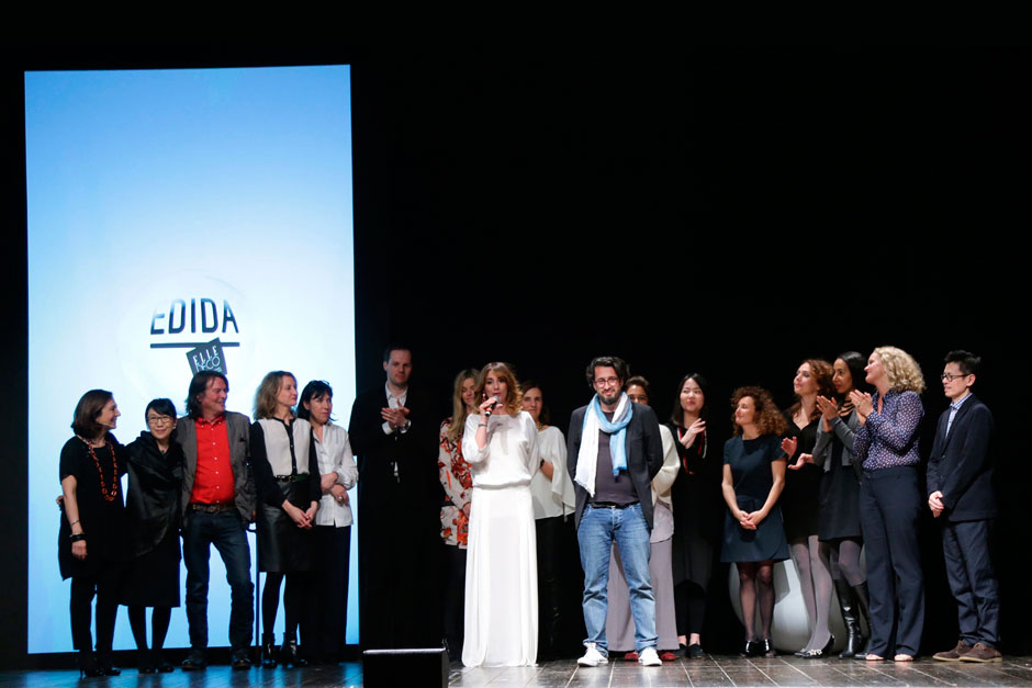 Paola Maugeri, Ron Gilad with the editors in chief of ELLE decoration network © Canio Romaniello Olycom