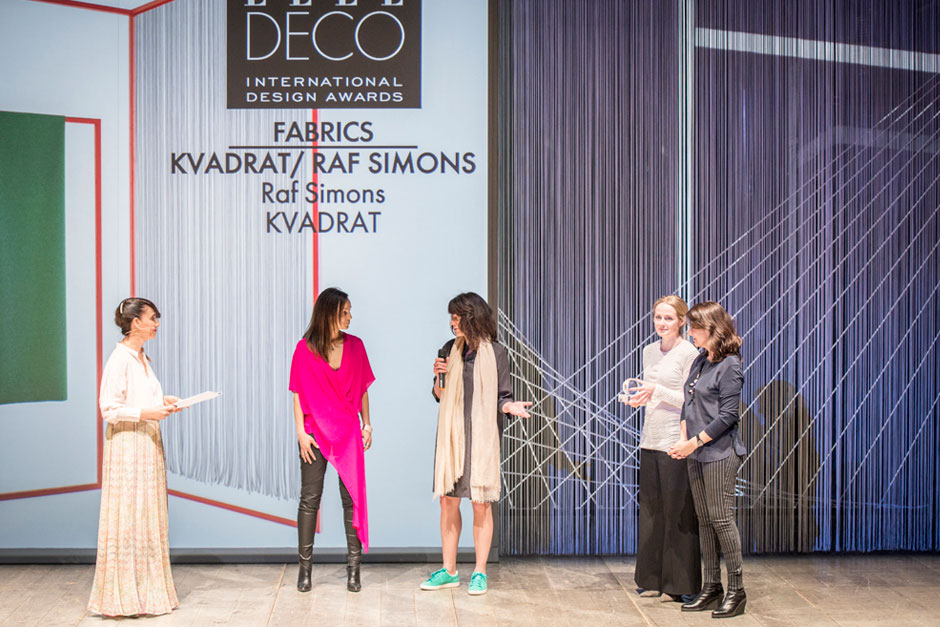Paola Maugeri, speaker, Njusja De Gier and Vilhelmine Ebbesen, VP branding & communication and Senior Design Coordinator of Kvadrat, Mette Skjødt and Marta Riopérez, Editors-in-Chief at ELLE DECORATION Denmark and ELLE DECOR Spain © VALENTINA SOMMARIVA